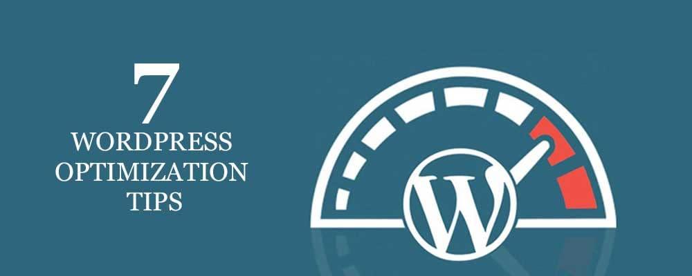 WordPress optimization tips