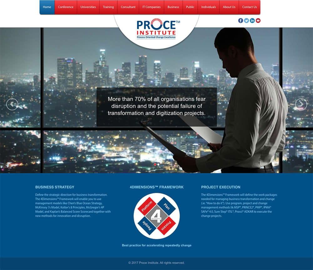 proce website