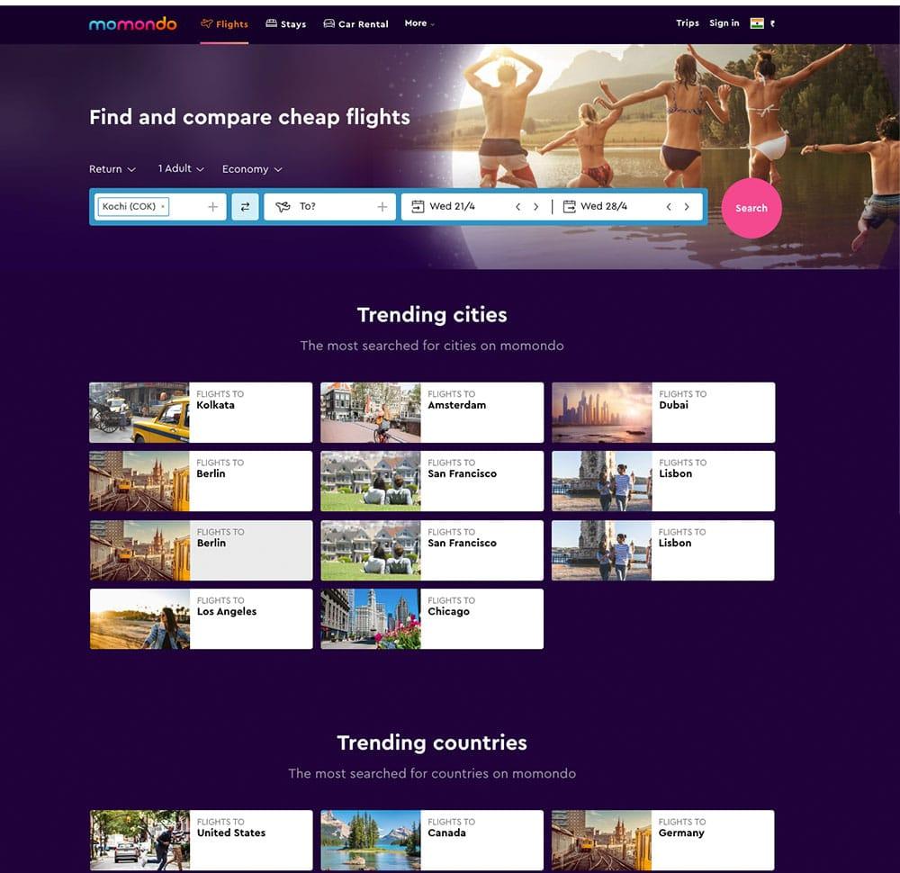 affordable travel website development