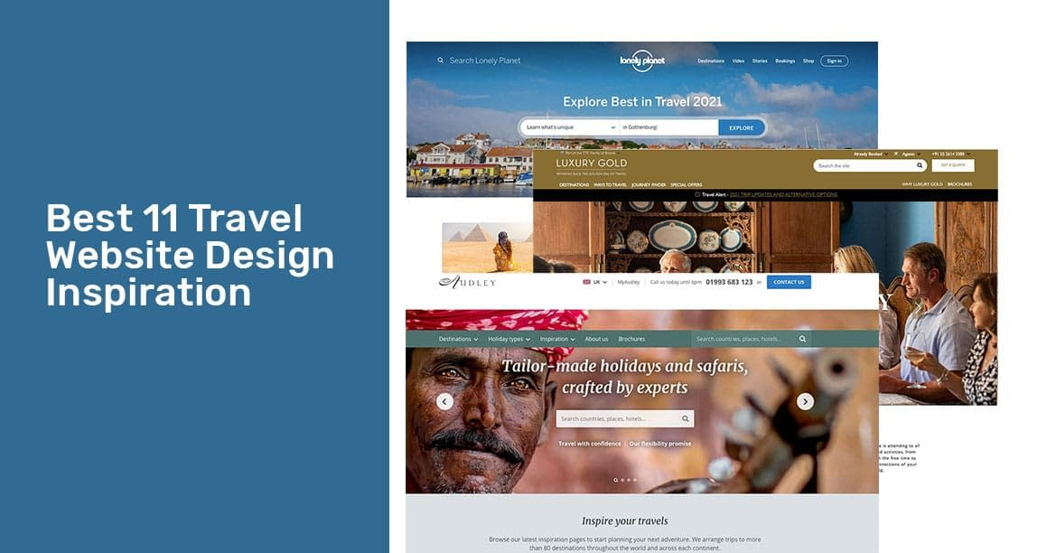 Best 11 Travel Website Design Inspiration